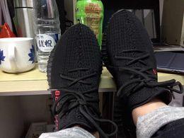 Wholesale Auténtico Kanye West Boost V2 BZ0256 SPLY Hombres Zapatillas Nike Color Negro True Boost v2 Size12 de alta calidad
