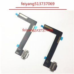 100pcs black white original Usb Plug Charge Board Replacement Charging Port Connector Flex Cable For Ipad air 2