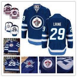 Wholesale 2016 Ice Hockey Winnipeg Jets Jerseys Patrik Laine Bryan Little Chris Thorburn Blake Wheeler Nikolaj Ehlers