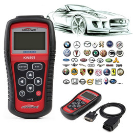 Wholesale KW808 MS509 OBD2 OBDII EOBD Scanner Car Code Reader Tester Diagnostic Interface Scan