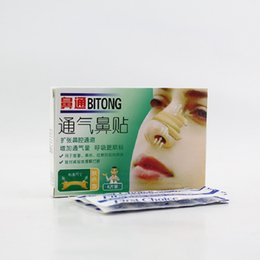 Wholesale breathe nasal strips for influenza allergy rhinitis nose caused by nasal congestion snore stopper improve sleep