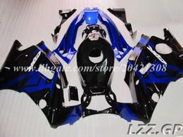 Carenados de alta calidad para Honda CBR600 F2 1991-1994 1992 1993 CBR 600 F2 91-94 CBR600 F2 91 92 93 94 # d7t34 carenados de color azul negro desde 91 carenados honda cbr proveedores