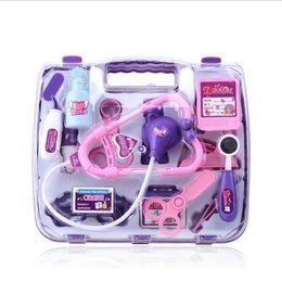 Wholesale Hug Me Doctor Play Set Medical Toy Intelligent Medicine Box Educational Toys Kids Gift EC