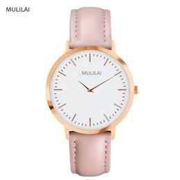 Swiss mulilai Brand Quartz Watches Women Famous Brand Gold Leather Band Wrist Watches Relojes Montre Homme Erkek Kol Watch