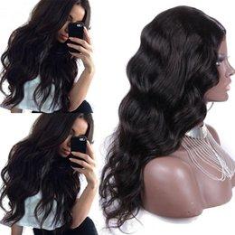 Virgin Malysian Human Hair Glueless Full Lace Wigs Virgin Hair Body Wave Wigs Glueless Long Human Hair Full Lace Wig