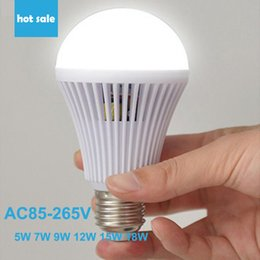 Rechargable led emergency light 5w to 18w led touch light by hand or water