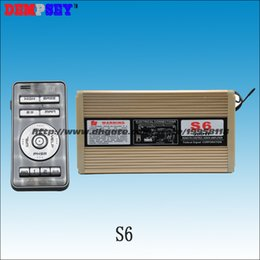 Wholesale Federal Signal S6 W wireless police car siren tones with Microphone Dual channel Siren only without speaker