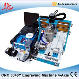 Wholesale 3040Y Axis Ball screw CNC router Engraving machine linear guide for Wood Metal Engraving Milling drilling