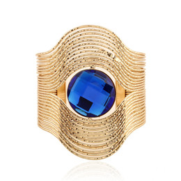 Wholesale Alloy Open Bracelet Maxi Stripe Gem Multi Layer Vintage geometry Ethnic Bohemian Statment Hollow Iron Bracelets Bangle Women Fashion Jewelry