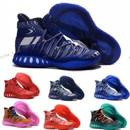 Wholesale Andrew Wiggins Crazy Explosive Boost Basketball Shoes J Wall Boots Man Primeknit Design Crazy Explosive PE AW Crazylight Boost