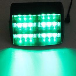 18 LED WHITE   AMBER  RED  BLUE  GREEN Strobe Flash Warning EMS Car Truck Light Flashing Firemen Fog Lights