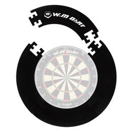 Wholesale Winmax Darts Board Wall Protector Dartboard Surround for Inch Dartboard Black