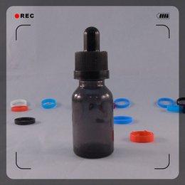 Wholesale 15ml E liquid Glass dropper Bottles Glass Shrink Sleeve label shrink seals for ml ml e juice glass bottles