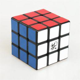 Descuento dayan juguete Regalos de Navidad de los niños Dayan Zhanchi 3x3 Cubo mágico Profesional Etiqueta Magic Puzzle Cube juguete