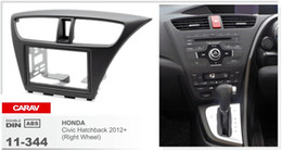 CARAV 11-344 CAR Radio installation dash install fitting trim kit for HONDA Civic Hatchback 2012+ (Right Wheel) 2-DIN