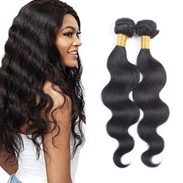 8A Peruvian Remy Hair Bundles 8-26 Double Weft Human Hair Extensions Dyeable 2pcs 100g pc Hair Weaves Body Wave Wavy Free Shipping