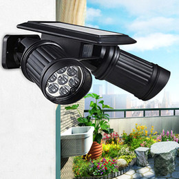 Argentina Super Bright 14 LED impermeable PIR Sensor de movimiento Solar Powered luz, led luces solares jardín de la lámpara de seguridad al aire libre Street Light bright led solar garden lights promotion Suministro