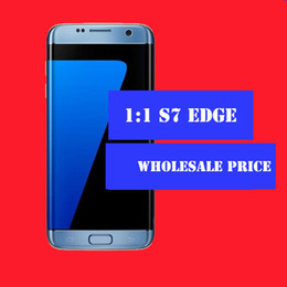 Wholesale BEST goophone s7 edge inch screen curved G LTE Octa core G RAM G ROM add GB CARD MP Camera VS goophone s7 phones