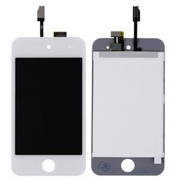 Wholesale NEW LCD Display Screen with Digitizer Glass Len Replacement for iPod Touch th Generation