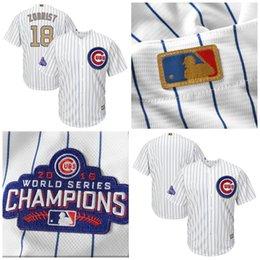 Wholesale Youth Gold Program Chicago Cubs Ben Zobrist Jake Arrieta Eddie Butler Wade Davis Dylan Floro John Lackey Jon Lester Baseball Jerseys