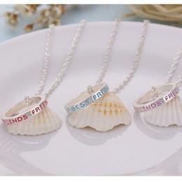 Wholesale Fashion Jewelry Fashion accessories chain best friends bestie set good friend bestie Ring Necklace eBay source set