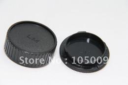 2017 cámara leica Venta al por mayor-tapa de la lente trasera / tapa + cuerpo de la cámara para leica m lm cámara leica oferta