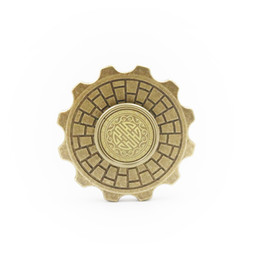 Wholesale Ctoom Gear Hand Spinner EDC Finger Spinner Fidget Toy Brass 606 Ceramic Bearing Spinning up to 6 minutes OEM Gifts