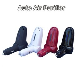 Wholesale Auto Anion Air Purifier DC V V Mini Portable Air Freshener USB Air Filter Negative Oxygen Ionizer Cleaner Product code