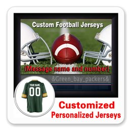 Wholesale Custom Personalized Jerseys Mens Womens Youth Aaron Rodgers Green Bay Jordy Nelson Game Elite Cheap Packer Jersey XL XL