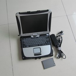 Wholesale mb star c3 diagnostic software with laptop cf19 touch screen super ssd for sale best quality dhl