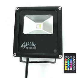 Wholesale Timing télécommande pour Home Garden Scenic Spot Hôtel Lands cape RVB Daylight White W RVB LED Flood Light lumières de sécurité extérieure