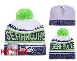 Wholesale Seahawks Beanies Team Hat football Seattle Winter Caps Popular Beanie women men Caps Skull Caps Best Quality Sports Caps Allow Mix Order