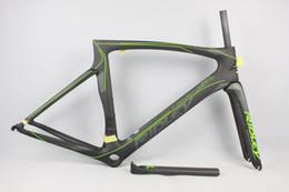 Descuento marcos de carreras 2017 nuevo Cipollini NK1K T1000 1k o 3K que compite con el marco completo del carbón del frameset de la bici de la bicicleta del marco del camino del carbón
