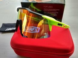 Promotion meilleures lunettes de soleil gros Wholesale- 2017 100% SpeedCraft Meilleur qualité lunettes de sport de sport lunettes de soleil homme jaw breaker radar ev oculos de grau vitesse artisanat rey prohib