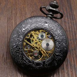 2017 cru mens watch automatique Hollow Vintage Semi Automatique Squelette mécanique Montre Cadeaux Cadeaux P807WBWB cru mens watch automatique sur la vente