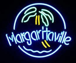 Margaritaville Palm Tree Real Glass Neon Light Sign Neon Lamp Beer Bar