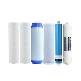 Wholesale PHEPUS Year set stage filter cartridge with PP cotton GAC CTO RO membrane T33 with CE Rohs certificates