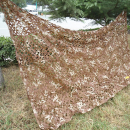 Wholesale Shade Shade Sails Nets M X M Desert Military Camouflage Net Camo Cover Sports Tent Army Jungle Netting for Camping Hunting Hiking