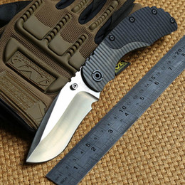 ST RC Tactical Folding Knife Titanium + G10 handle D2 blade camping hunting outdoor gear survival Combat Knives Multifunction EDC tools