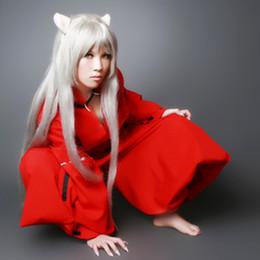 Inuyasha cosplay costumes Japanese anime Inuyasha clothing Masquerade Mardi Gras Carnival costumes full set
