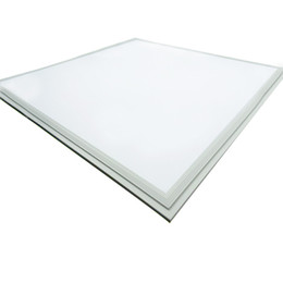 white frame square led panel light 60x60 600x600 mm 2x2 ft 36w 42w 48w dimmable led