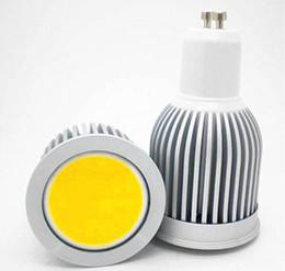 GU10 5W / 7W / 9W COB Dimmable LED Spot ampoules Lampe Blanc chaud / Cool Blanc High Luminosité Plein écran à partir de mr16 blanc chaud torchis 5w fabricateur