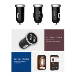 Original Fashion Car Charger 5V 2A Micro Auto Universal Dual USB Car Charger Mini Car-charger Adapter for iPhone Samsung Xiaomi HTC