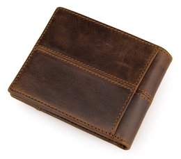 Wallet for Man Christmas Gift Genuine Leather Man Wallet With Coin Pocket zipper MOQ 1 Piece Dropshipping gift for boyfriend and Dad