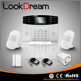 Update Home Wireless Security System Electronic Apartment GSM Burglar Alarm Low Consumption Power By DHL Free