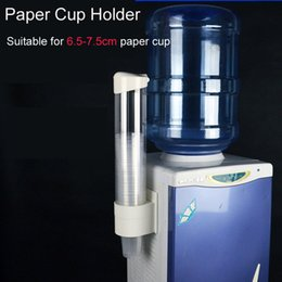 Wholesale New Plastic Automatic Disposable Paper Cups Storage Holder For Water Dispenser