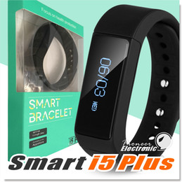Wholesale I5 Plus Bluetooth Smart Sports Bracelet Wireless Fitness Pedometer Activity Tracker with Steps Counter Sleep Monitoring Calories Track