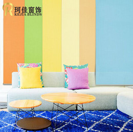 Wholesale free ship European sytle high quality popular roller blinds the curtains for window shade customized size from China factory