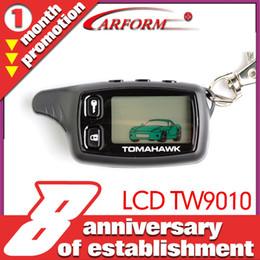 Descuento sistema de alarma a distancia un coche Sistema de alarma bidireccional del coche de la alarma del coche de Tomahawk TW9010 del envío-Al por mayor-Libre TWA-9010