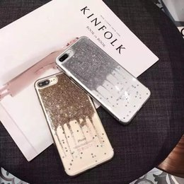 Glitter Star TPU Case for iPhone6 6s Plus Shinny Quicksand Soft Back Cover for iPhone7 Plus Phone Protective Cases